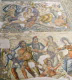 Roman Mosaics in House of Aion Royalty Free Stock Image