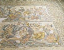 Roman Mosaics i hus av Aion arkivbild