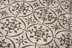 Roman mosaics in Italy royalty free stock photos