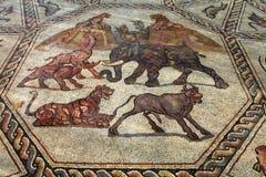 roman mosaik arkivfoton