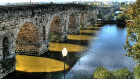 roman mostu Obraz Stock
