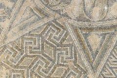Roman mozaïek Royalty-vrije Stock Afbeeldingen