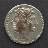 Roman muntstuk Royalty-vrije Stock Foto's