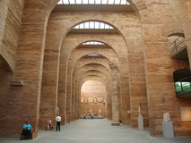 Roman Museum. A picture of the arches in the interiors of a Roman museum in Merida, Spain Stock Images