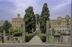 Roman museum Stock Photography