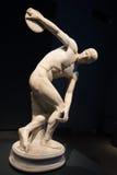 Roman Museum national - lanceur de disque photos libres de droits