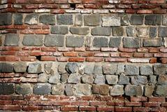 Roman muurachtergrond Stock Afbeeldingen