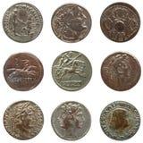 roman mynt royaltyfria foton