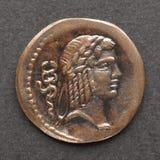 roman mynt arkivfoton