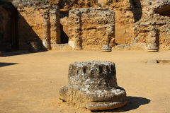 Roman Necropolis in Carmona Stock Photos