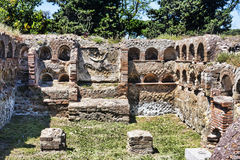 Roman necropolis columbarium in ancient Ostia Royalty Free Stock Images