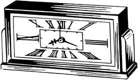 Roman Numeral Alarm Clock Image libre de droits