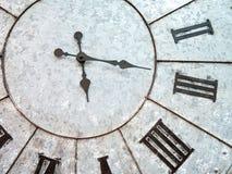 Metal clock face Stock Image