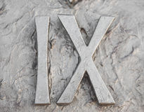 Roman numerals Royalty Free Stock Images