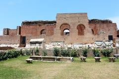 Roman Odeon antico a Patrasso, Grecia Fotografia Stock