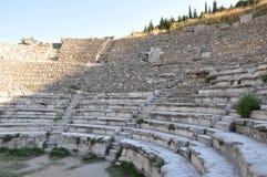 Roman Odeon ou teatro, Ephesus, Turquia Fotos de Stock Royalty Free