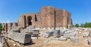 Roman Odeon, Patras, Greece Stock Photo