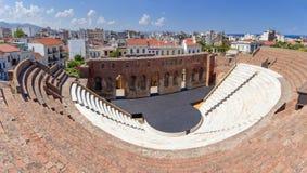 Roman Odeon, Patras, Peloponeso Imágenes de archivo libres de regalías