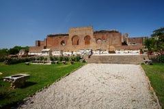Roman Odeon. Royalty Free Stock Photography