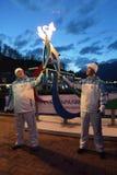Roman Osin und Valery Kokorev Lizenzfreies Stockbild