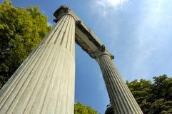 Roman overblijfselen stock foto's