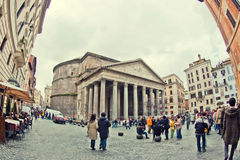 Roman Pantheon Stock Photography