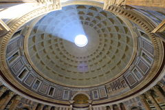 Roman Pantheon ceiling Stock Images