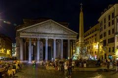 Roman pantheon, Eternal City of Rome stock photos