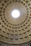 Roman Pantheon Eye Stock Photography