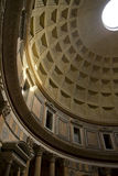 Roman Pantheon Inside View. Inside view of the Roman Pantheon Royalty Free Stock Images