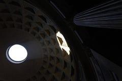 Roman Pantheon intérieur Photos stock