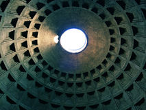 Roman Pantheons Dome Royalty Free Stock Photography