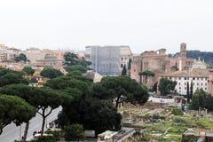 Roman past Stock Image
