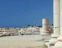 roman pelare arkivbilder
