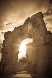 Roman Pergamum - Asklepion Royalty-vrije Stock Afbeeldingen
