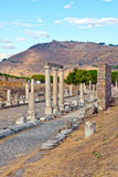 Roman Pergamum - Asklepion Stock Photo