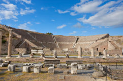 Roman Pergamum - Asklepion Royalty Free Stock Images