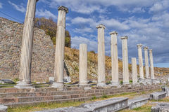 Roman Pergamum - Asklepion Royalty Free Stock Photography