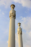 Roman pillars. Royalty Free Stock Image