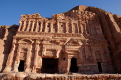Roman Place in Petra Stock Photo