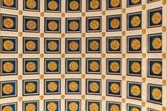 Roman Plafond stock afbeeldingen