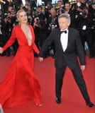 Roman Polanski & Emmanuelle Seigner Stock Images