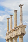 Roman Pompeii ruins after the eruption of Vesuvius, Italy Royalty Free Stock Photo