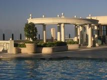 Roman pool van Greco Stock Afbeeldingen