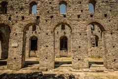 Roman poort in Butrint, Albanië Royalty-vrije Stock Afbeeldingen