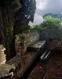 Roman public latrine royalty free stock photography