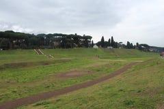 Roman Race Track Park royaltyfri bild