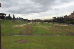 Roman Race Track Park royaltyfria bilder