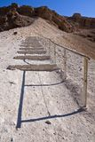 The roman ramp - Masada Royalty Free Stock Photos