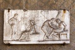 Roman relief Royalty Free Stock Photo